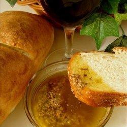 Parmesan and Garlic Dipping Oil recipe