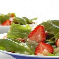 Best Ever Summer Strawberry Spinach Salad recipe