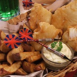 Beer-Battered Fish With Tartar Sauce recipe