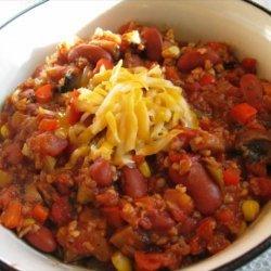 Easy Spicy Vegetarian Chili recipe