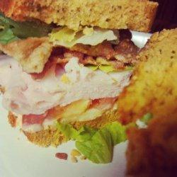 Bacon Turkey Bravo Sandwich recipe
