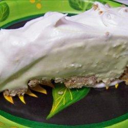 Margarita Pie With a Pretzel Crust! recipe