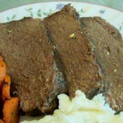 V's Crock Pot Bottom Round Roast recipe