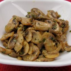 Herb Sauteed Mushrooms recipe
