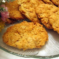 Grandma's Old Fashioned Oatmeal Cookies recipe