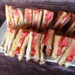Kittencal's Grilled Cheese and Tomato Sandwich recipe