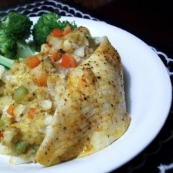Flounder Stuffed With Shrimp and Crabmeat recipe