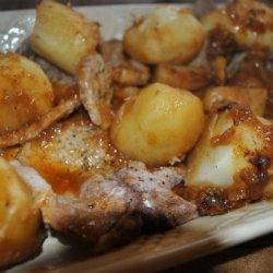 Pressure Cooked Pork Chops recipe
