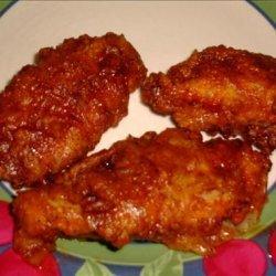 Honey Barbecue Chicken Strips recipe