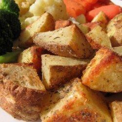 Seasoned Baked Potato Chunks recipe