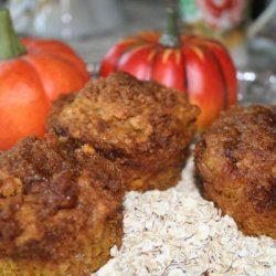 Pumpkin Oat Muffins recipe