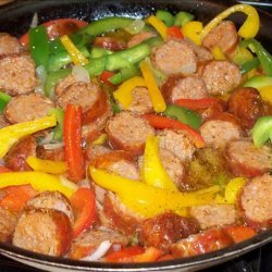 Sausage and Bell Peppers recipe