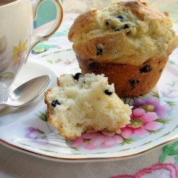 Melt in Your Mouth Blueberry Muffins recipe