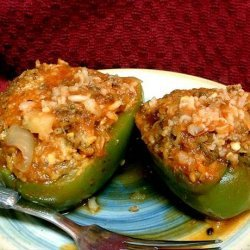 Mom's Stuffed Bell Peppers recipe