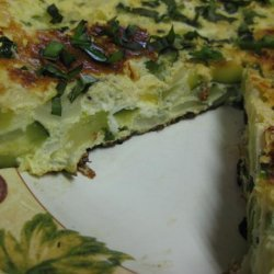 Frittata Di Zucchine (Zucchini Frittata) recipe