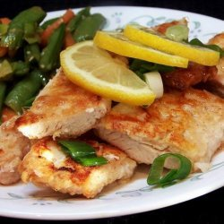 Baked Lemon Chicken With Chinese Lemon Sauce recipe