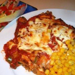 Leftover Beef Enchiladas recipe