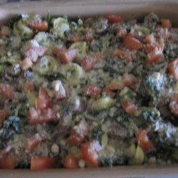 Creamed Spinach and Tortellini Casserole recipe