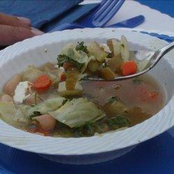 Greek Bean Soup recipe