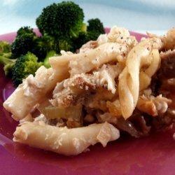 Low Fat Tuna Noodle Casserole recipe