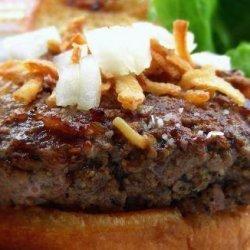 French Onion Burgers recipe