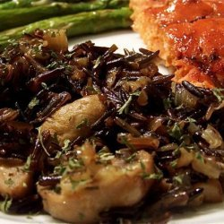 Wild Rice and Mushroom Casserole recipe