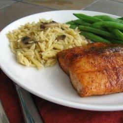 Spiced Maple Glazed Salmon recipe