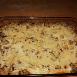 Crescent Crust Sausage Brunch Casserole recipe