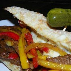 Tar Heel (Not Philadelphia) Steak and Cheese Sandwiches recipe