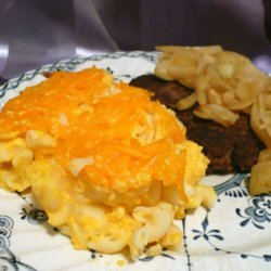 Old Fashioned Baked Mac 'n Cheese recipe