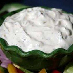Delicious Dill Dip for Veggies recipe