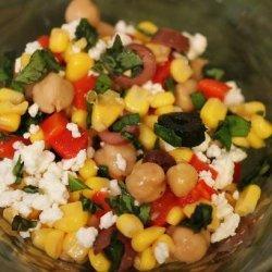 Mediterranean Corn Salad recipe