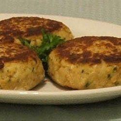 Salmon Potato Patties recipe