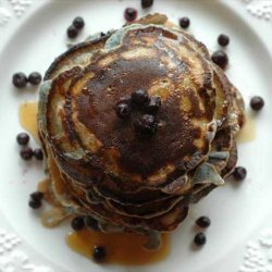 Blueberry Pancakes, Milk-free, Egg-free recipe