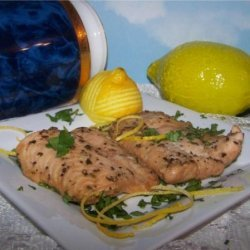 Grilled Herbed Salmon recipe