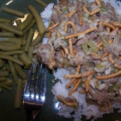 Chinese Hamburger Casserole recipe