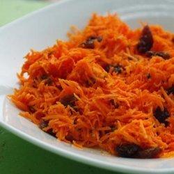 No Fat Carrot Raisin Salad recipe