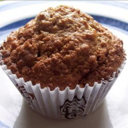 Lighter, but Scrumptious Oatmeal Raisin Muffins :) recipe