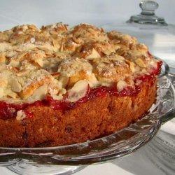 Cherry Streusel Coffee Cake recipe