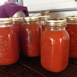 V-8 juice for canning recipe