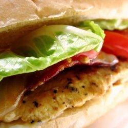 Lemon Pepper Bacon Chicken Sandwich - Pioneer Woman recipe