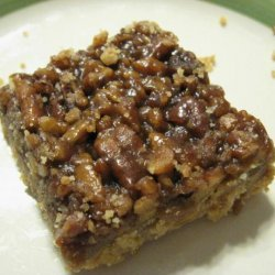 Pecan Pie Bar Cookies recipe