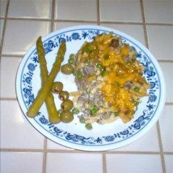 Hamburger and Kd Casserole recipe