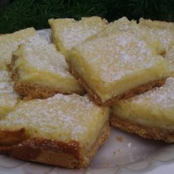 Creamy Lemon Squares recipe