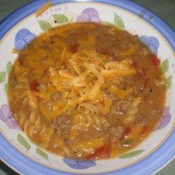 Hamburger Helper Soup recipe