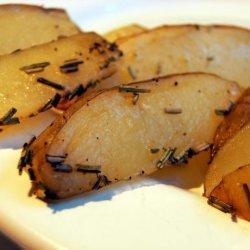 Roast Potatoes With Herbs recipe