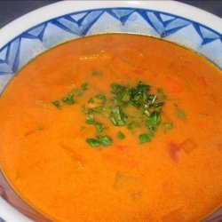New England Soup Factory's Spicy Chickpea and Butternut Soup recipe