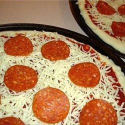 Pizza Crust (Bread Machine) recipe