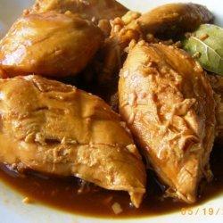 Chicken Adobo in Coconut Milk recipe