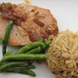Pork Chops and Rice recipe